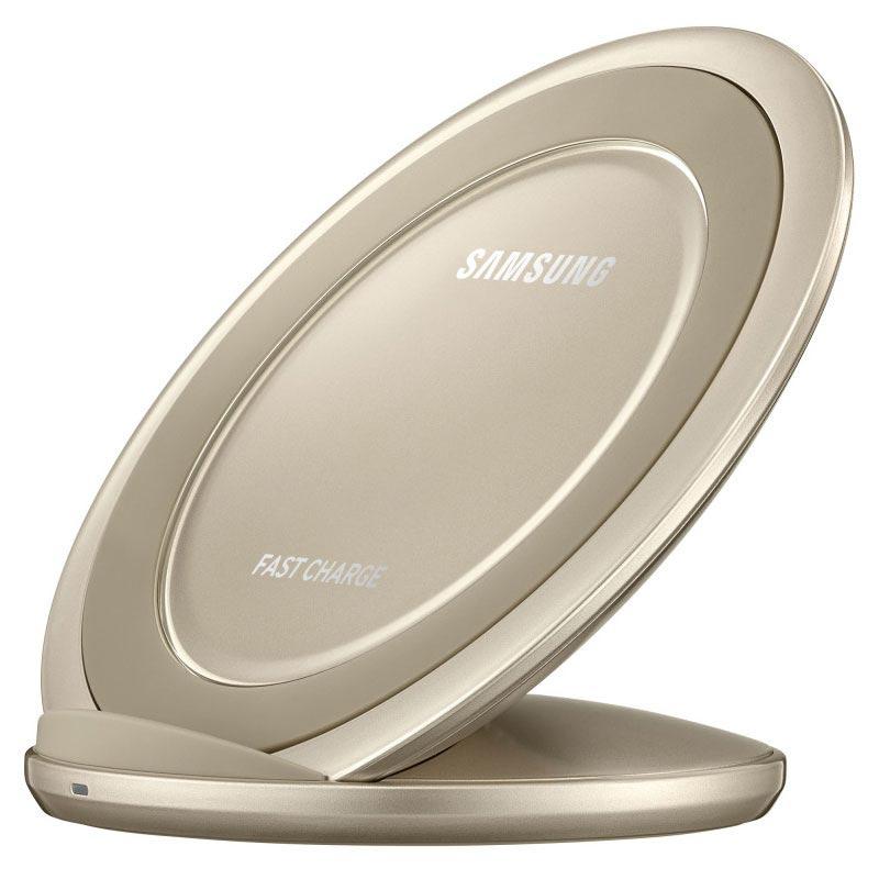 Samsung trådlös laddare snabbladdning guld