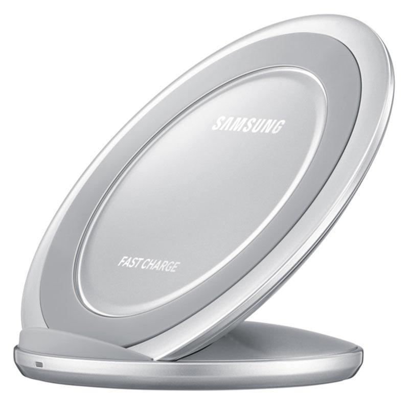 Samsung trådlös laddare snabbladdning silver