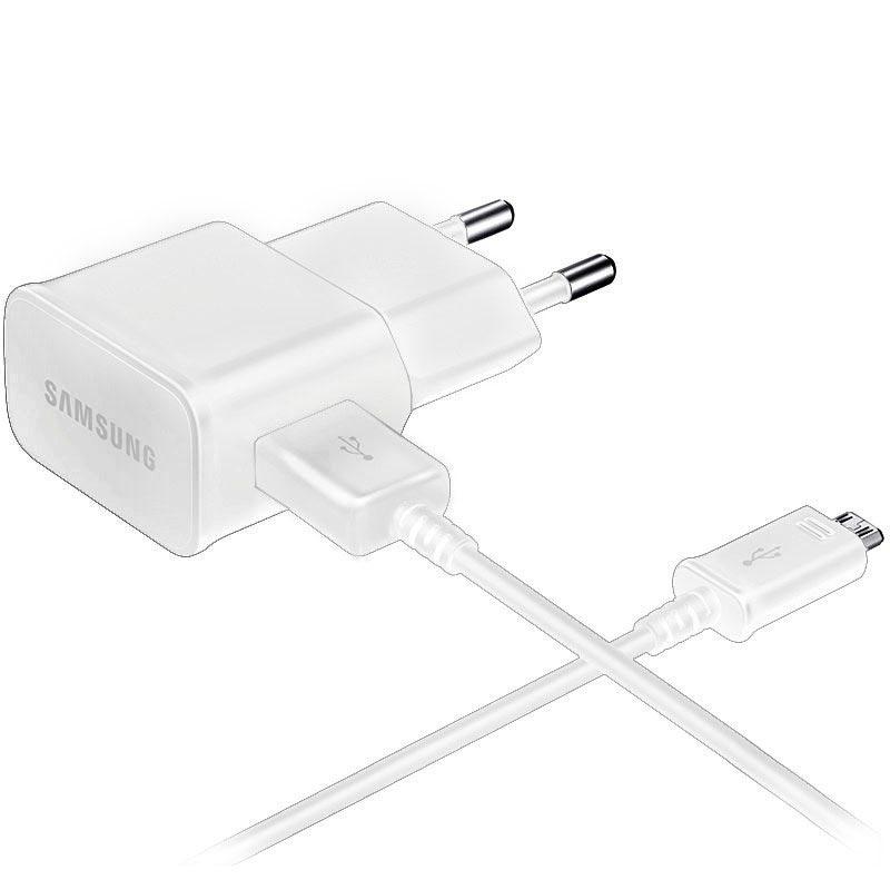 Samsung EP TA12EW reseladdare vit med MicroUSB till USB kabel