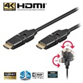 Goobay High Speed HDMI-Kabel med Ethernet - Roterbar - 2m