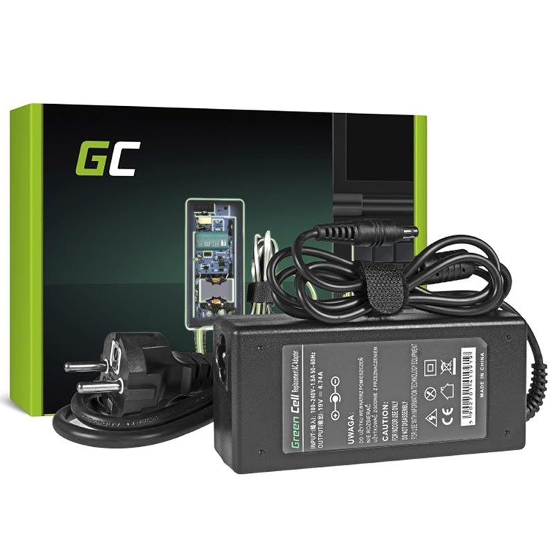 Green Cell Laddare Adapter Samsung P, R, N, NP, NV, NX 90W