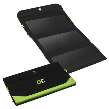 Green Cell SolarCharge 21W Solpanel med 6400mAh Powerbank