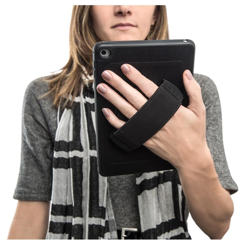 Griffin Air Strap 360 iPad Mini (2019), iPad Mini 4 TPU-skal - Svart