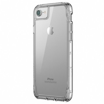 iPhone 8/7/6/6S Griffin Survivor Clear Skal - Genomskinlig