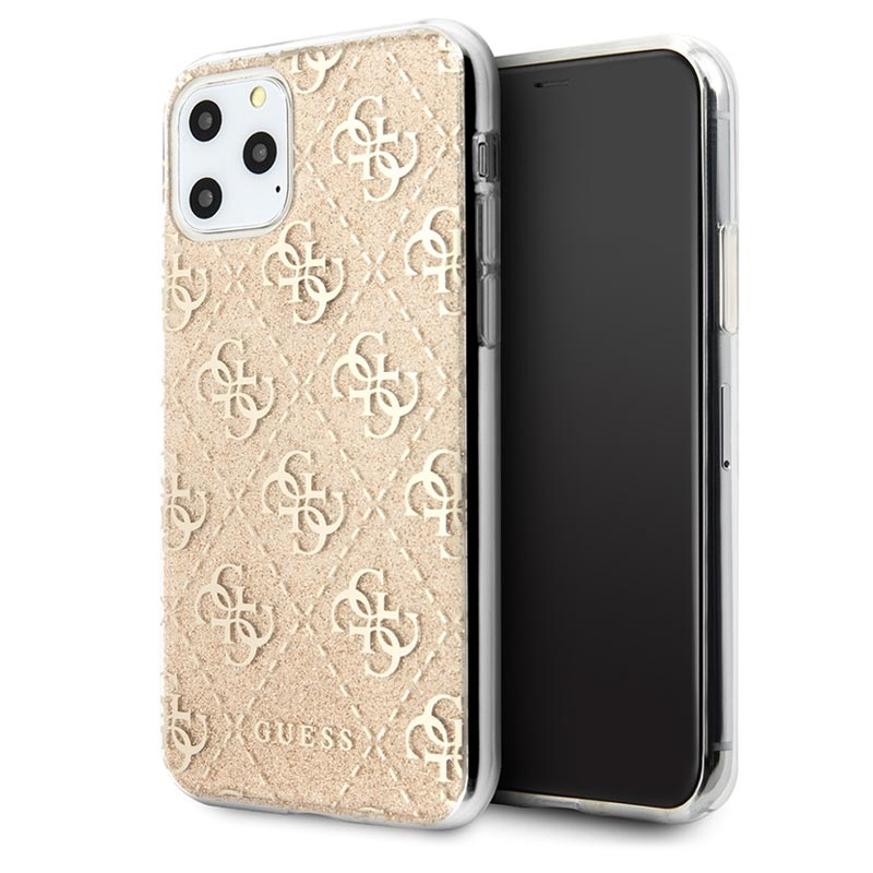 Guess 4G Glitter Collection iPhone 11 Pro Max Skal