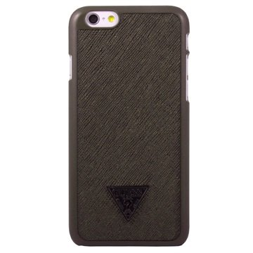 iPhone 6 / 6S Guess Brad Collection Hårt Skal - Brun