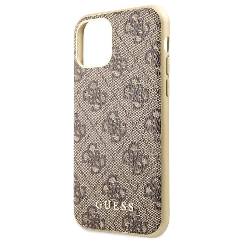 Guess Charms Collection 4G iPhone 11 Skal - Brun