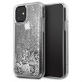 Guess Glitter Collection iPhone 11 Skal - Silver