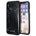 Guess Marble Collection iPhone X / iPhone XS Hybrid Skal