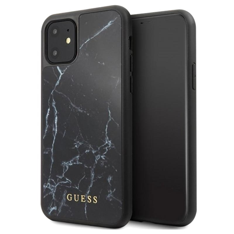 Guess Marble Collection iPhone 11 Hybrid Skal