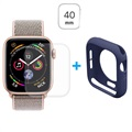 Hat Prince Apple Watch Series SE/6/5/4 Full Skyddskit - 40mm - Mörkblå