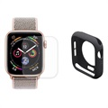 Hat Prince Apple Watch Series 5/4 Full Skyddskit - 44mm - Svart