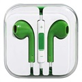 In-ear Headset - iPhone, iPad, iPod - Grön