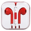 In-ear Headset - iPhone, iPad, iPod - Röd