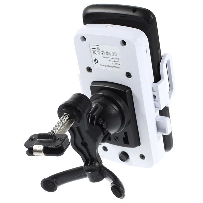 10W trådlös trådlös laddare för iPhone X XS Max Qi trådlös laddarehållare för Samsung Galaxy S9 S8 Obs 9