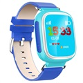 Kids GPS Tracking Smartwatch med Hands-Free Q70 - Blå