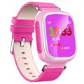 Kids GPS Tracking Smartwatch med Hands-Free Q70 - Rosa
