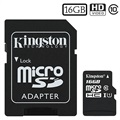 Kingston Canvas Select MicroSDHC Minneskort SDCS/16GB - 16GB