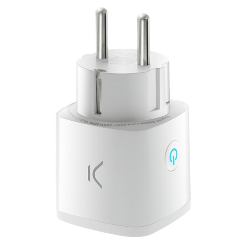 Ksix Smart Energy WiFi Vägguttag - Android, iOS