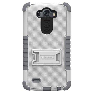 LG G3 Beyond Cell Tri Shield Skal - Vit   Grå bc64e4c9fee9e