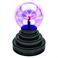 Magic Plasma Ball Sphere Lampa med Touch-sensor