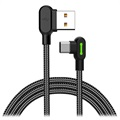 Mcdodo Night Elves 90-grader USB-C Kabel - 1.8m - Titan Svart