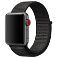 Apple Watch Series 4/3/2/1 Nylonrem - 44mm, 42mm - Svart