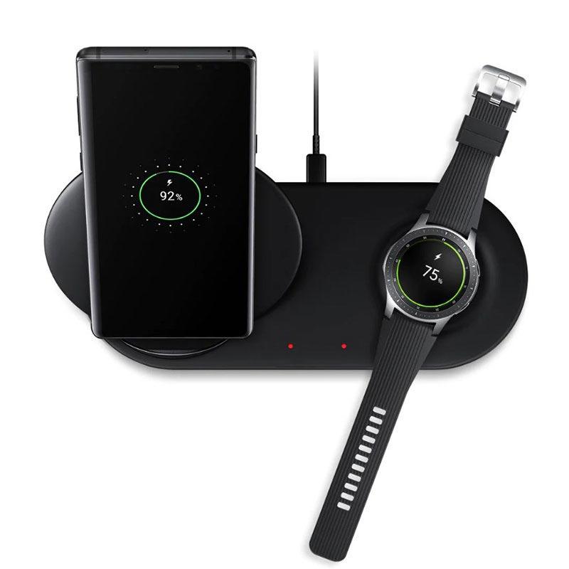 Samsung EP N6100TBEGWW Trådlös Laddare Duo