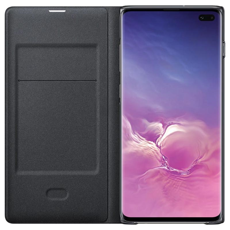 Samsung Galaxy S10+ LED View Cover EF-NG975PBEGWW - Svart