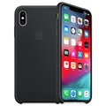 iPhone XS Max Apple Silikonskal MRWE2ZM/A - Svart