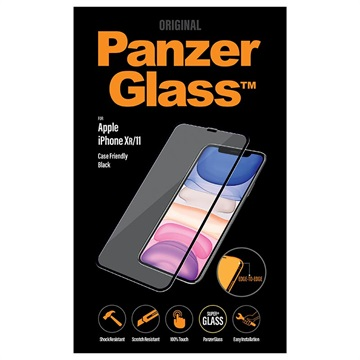 PanzerGlass Case Friendly iPhone 11 Härdat Glas Skärmskydd