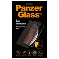 PanzerGlass Privacy Case Friendly iPhone XS Max Härdat Glas Skärmskydd
