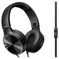 Pioneer SE-MJ722T-B Vikbart Over-ear Headset - 3.5mm