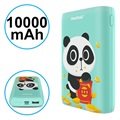 Pisen Meatball Stylish Powerbank - 10000mAh - Cyan