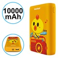 Pisen Meatball Stylish Powerbank - 10000mAh - Orange