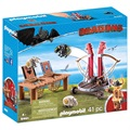 Playmobil Dragons 9461 Gape Rapkäft med Fårsele