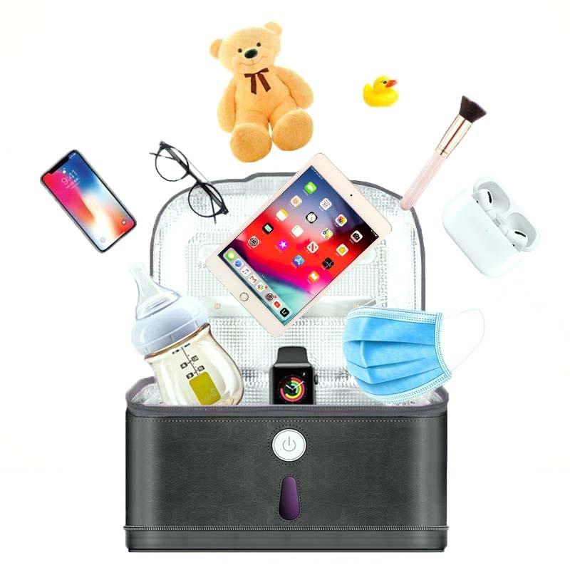 HomeSafety Multifunktionell Mini Bärbar UV Sterilisator Lampa