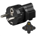 Power Laddare US 2 Pin Socket to EU 2 Round Pin