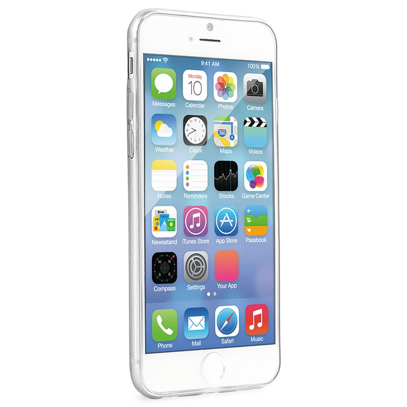 iPhone 6   6S Puro 0.3 Ultra Slim Nude Silikon Skal 3fb010d2d098f