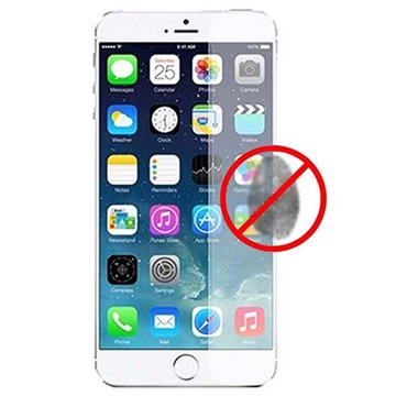 iPhone 6 Plus / 6S Plus Puro Displayfilm - Anti-Fingeravtryck