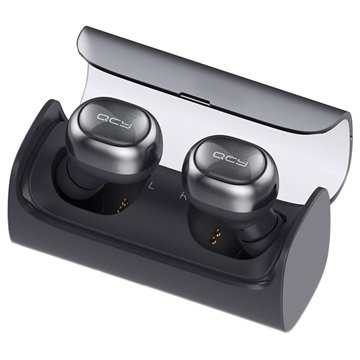 Svart QCY Q29 Mini Bluetooth headset