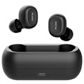 QCY T1C In-Ear True Wireless Stereo Hörlurar - Bluetooth 5.0 - Svart