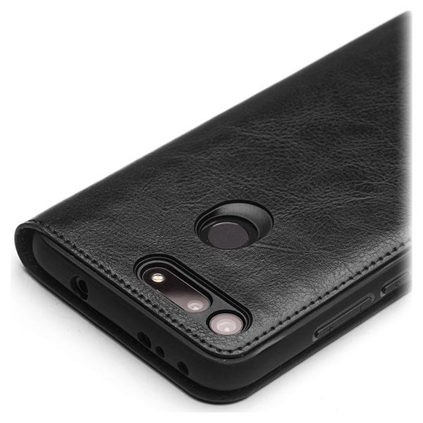 Qialino Classic Honor View 20 Flip Läderfodral