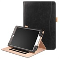 Retro Smart Foliofodral - iPad 9.7, iPad Air 2, iPad Air - Svart