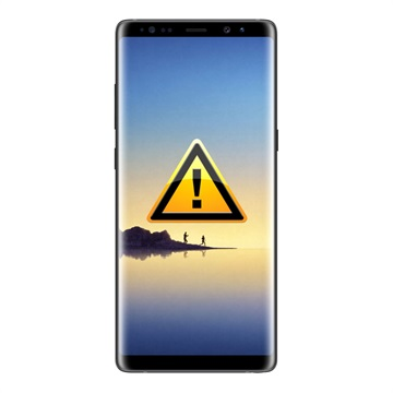 Samsung Galaxy Note 8 Funktion Knapp Flex-kabel Reparation