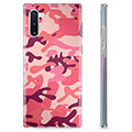 Samsung Galaxy Note10 TPU-Skal - Rosa Kamouflage