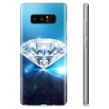Samsung Galaxy Note8 TPU-Skal  - Diamant
