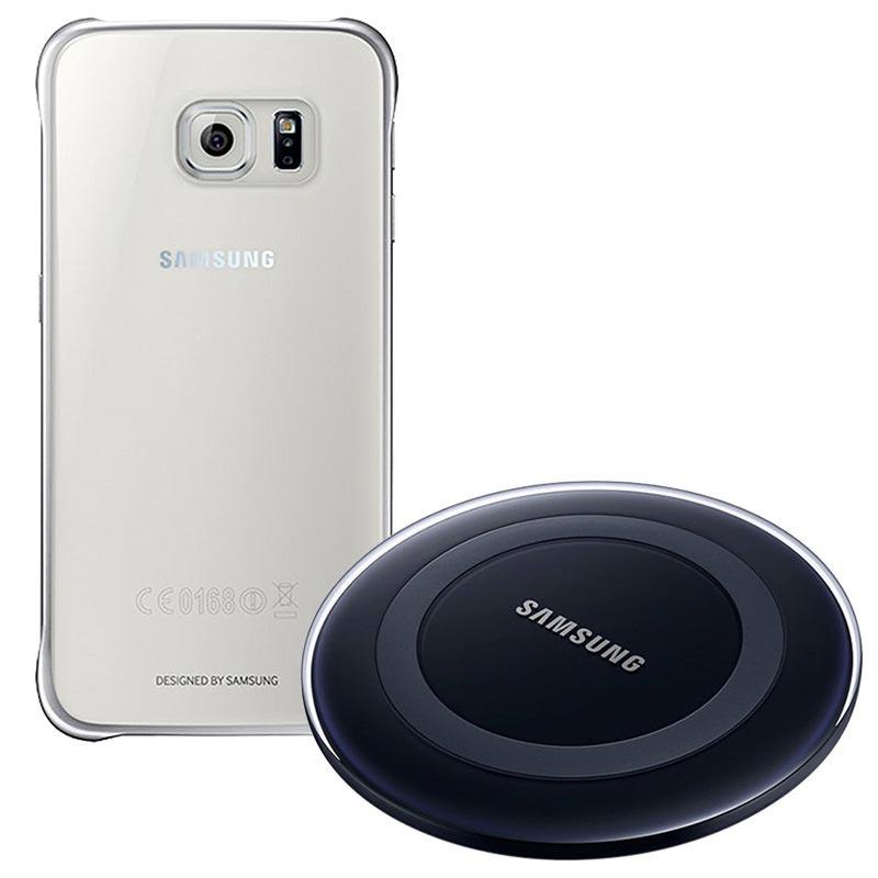 Samsung s7 Edge + skal, VR headset trådlös laddare
