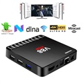 Scishion V88 Piano 4K Android 7.1 TV-Box - 4GB RAM
