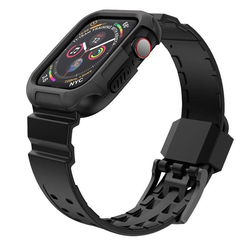 Apple Watch Series 4 Silicone Sportband och Skal